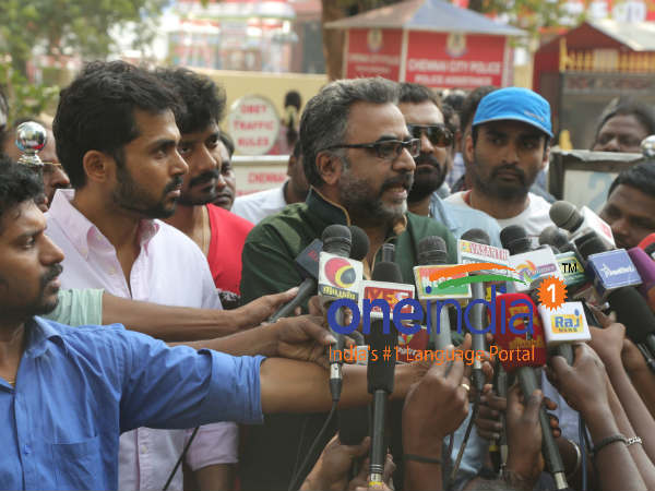 Nadigar Sangam seeks police protection for GB