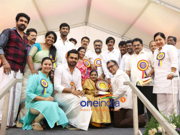 Senior artists honoured in Nadigar Sangam annual GB meet