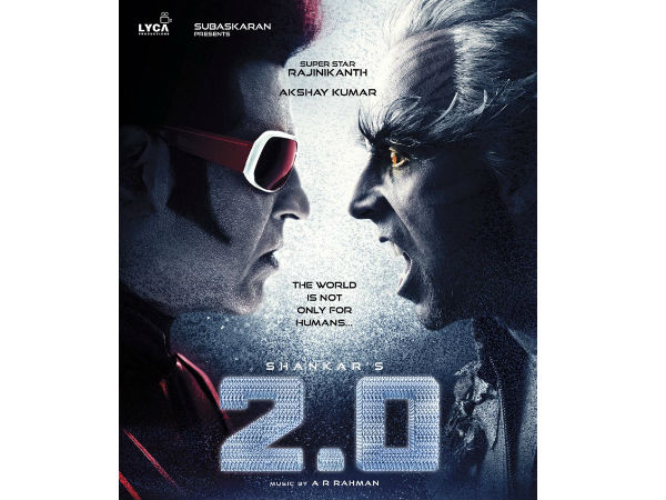 Rajinikanth's 2.0 first look launched