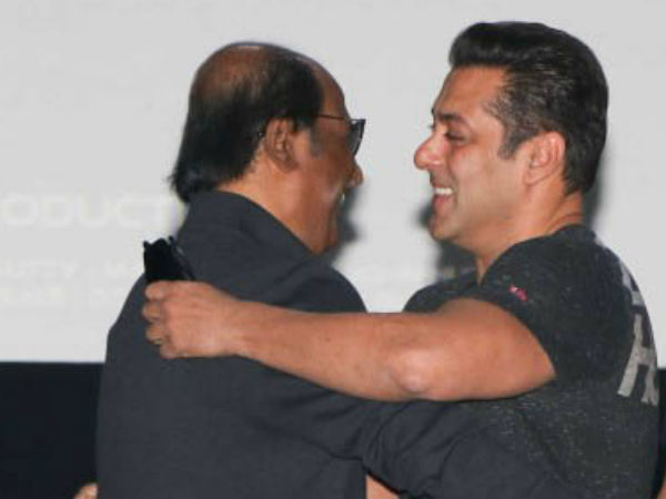 I'm ready to share screen with Salman Khan, says Rajinikanth
