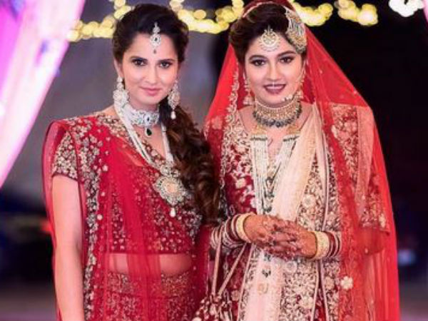 Sania Mirza sister's Star-studded wedding