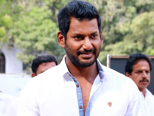 Director Subash played an important role in Vishal's life