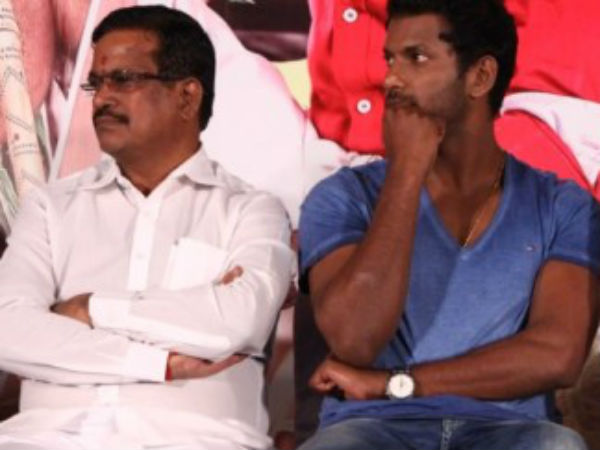 Vishal's interview about his clash with Producer council
