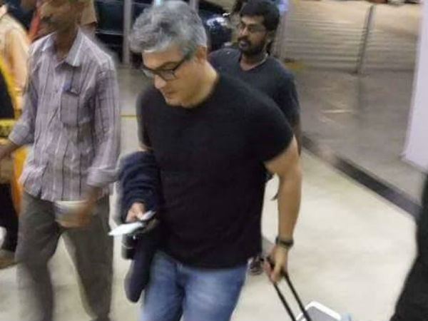 Why did Ajith go to Romania?