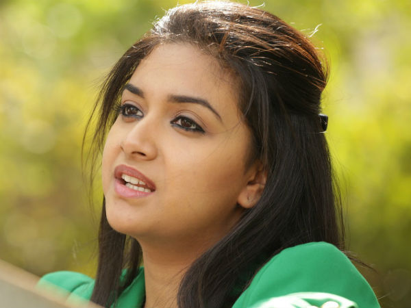 Keerthi Suresh says no to Vikram but Okayed for Pawan