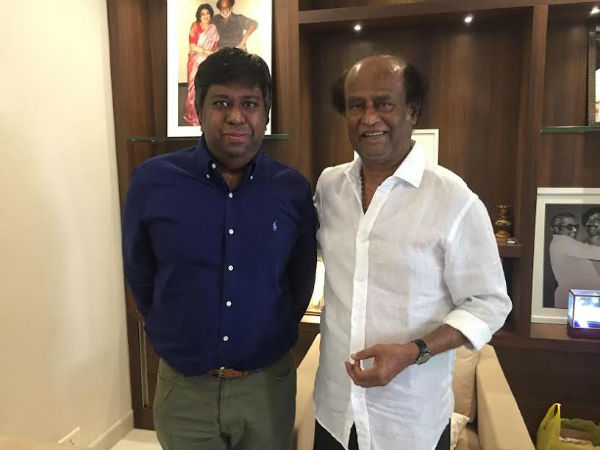 Rajini watches digitally remastered Baasha