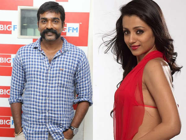 Vijay Sethupathy - Trisha movie titled as '96'