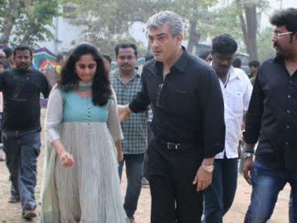 Nadigar Sangam fasting: Ajith participates with wife