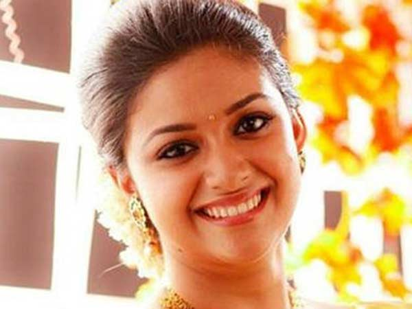 Keerthi Suresh listed out qualifications for her future husband