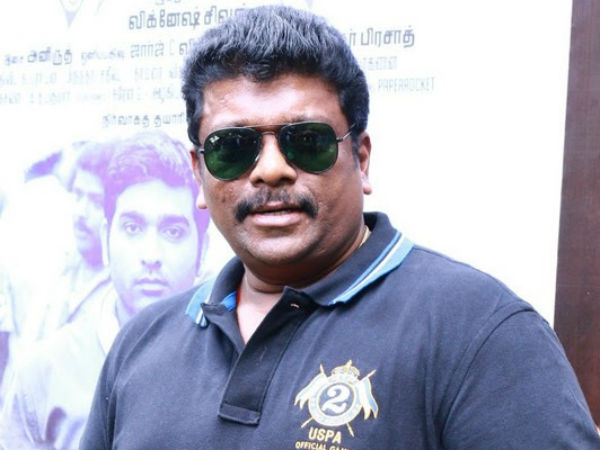 Parthiban watches Santhanu's activities secretly