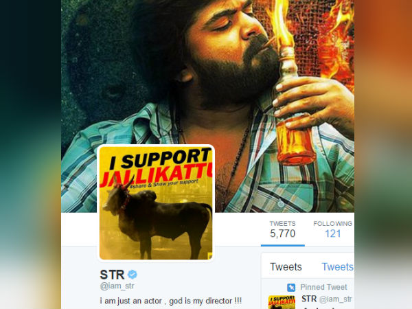Have you seen Simbu's twitter profile picture?