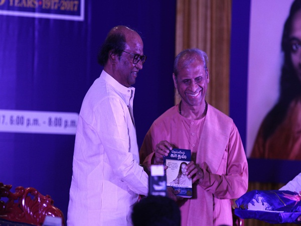 Rajini tell a story in book release