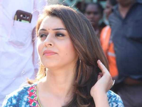 Hansika to built house for orphan children