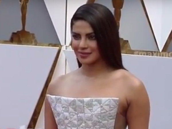 Priyanka Chopra's daring dress attracts more at Oscar red carpet