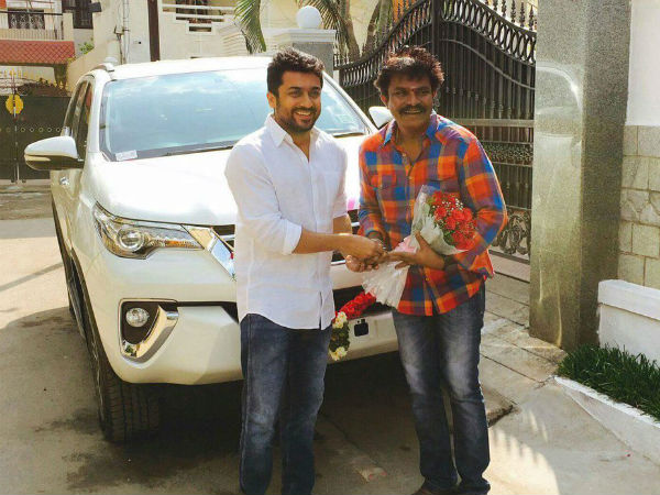 Suriya gifts a car to Hari