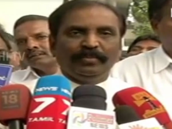 A political poem in the name of Vairamuthu