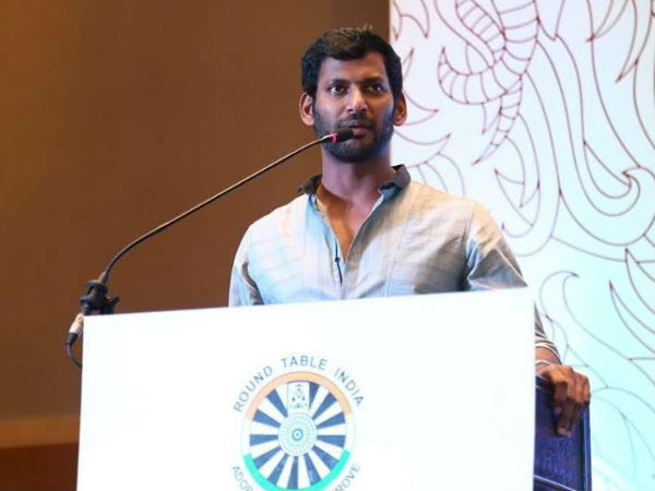 Vishal donates his prize money to farmers