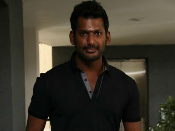 Vishal helps Rs 2 lakh relief material to fire affected residents