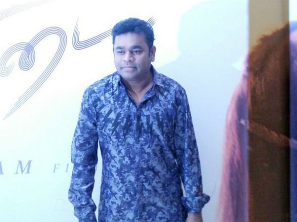 AR Rahman's respect on Manirathnam