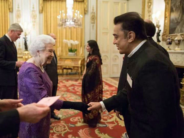 Kamal Hassan meets The Queen