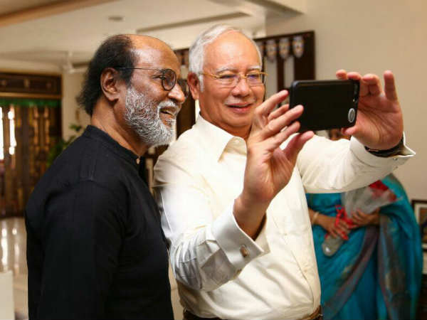 Rajini speaks about his meet with Malaysian PM