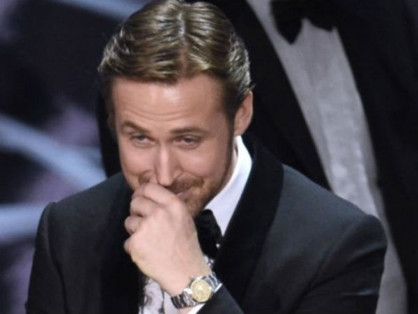 Ryan Gosling explains why he laughed during Oscars mix-up