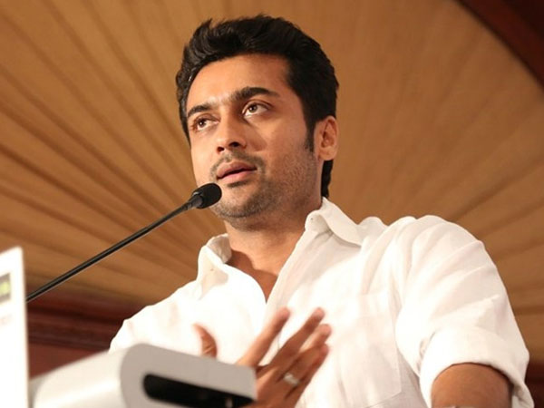 Surya gives mark to himself