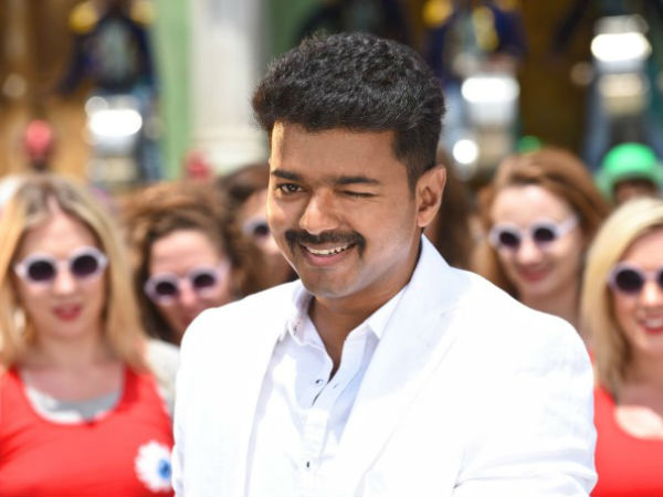 What is Vijay's getup in Atlee's movie?