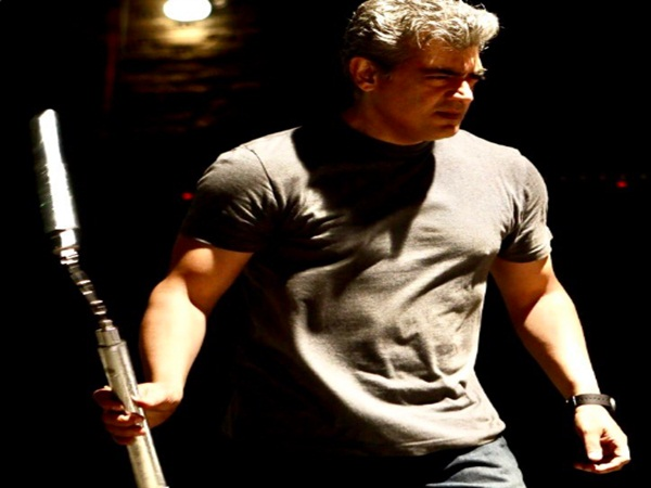 Director siva has released a working still of Thala Ajith