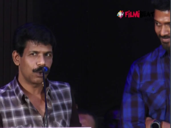 Director Samuthrakani's thondan audio release launch function