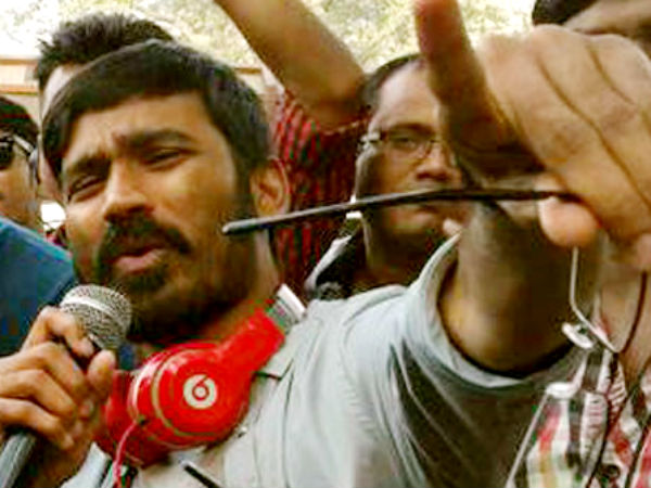 Dhanush tastes his first success as director