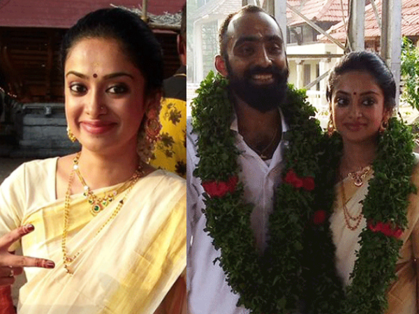 Gauthami Nair marries 'Second Show' Director Srinath Rajendran