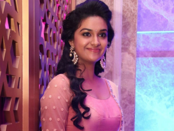 Keerthi Suresh's wish to act with Ajith