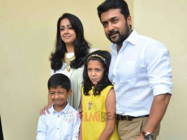 I will try to become more responsible after heard Jyothika's speech - Surya