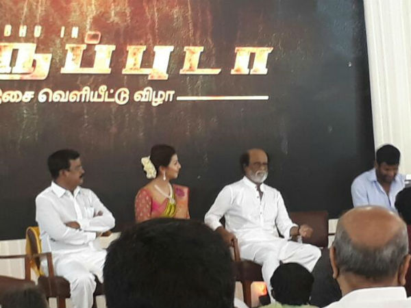 Rajinikanth's appeal to media