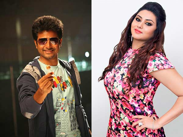 Namitha to play sister of Sivakarthikeyan