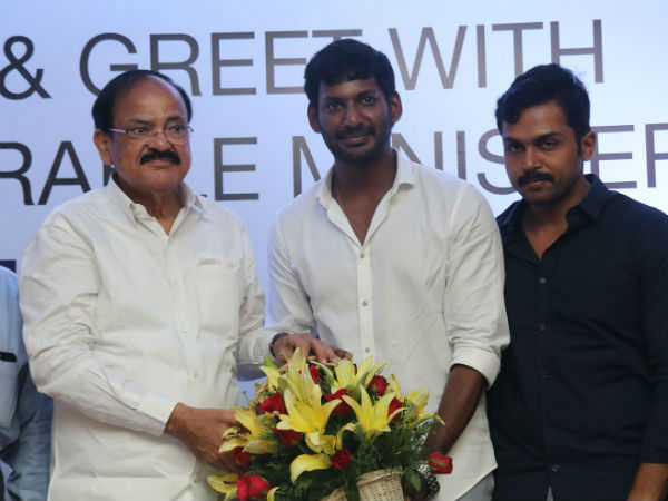Tamil film celebrities come close to BJP govt