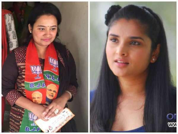 நடிகை 'குத்து' ரம்யாவை லெப்ட் அன்ட் ரைட் வாங்கிய பிரபல நடிகரின் மனைவி: திரையுலகில் பரபரப்பு