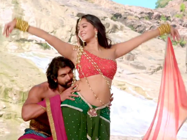 Baahubali Fame Devasena and Bhallaldeva romantic video goes VIRAL
