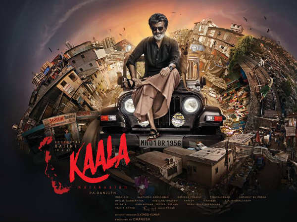 Rajinikanth's Kaala first look released