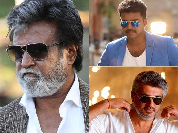 Vijay and Ajith to learn a lot from Rajinikanth