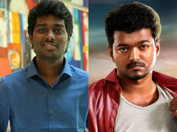 Vijay - Atlee to join together for the third time