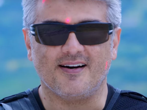 Vivegam teaser gets 2.3 million views in 12 hours