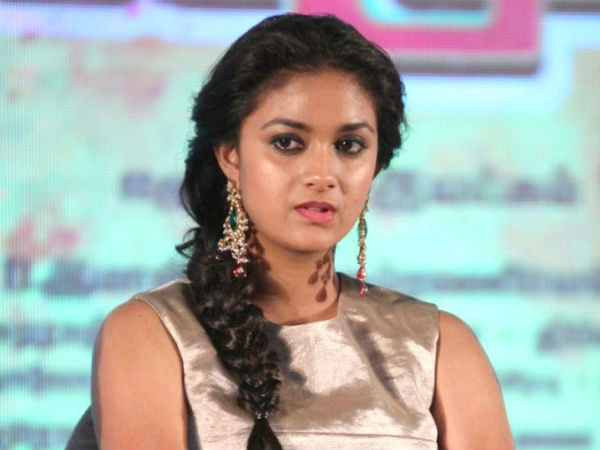 Keerthy Suresh gives shock to producer