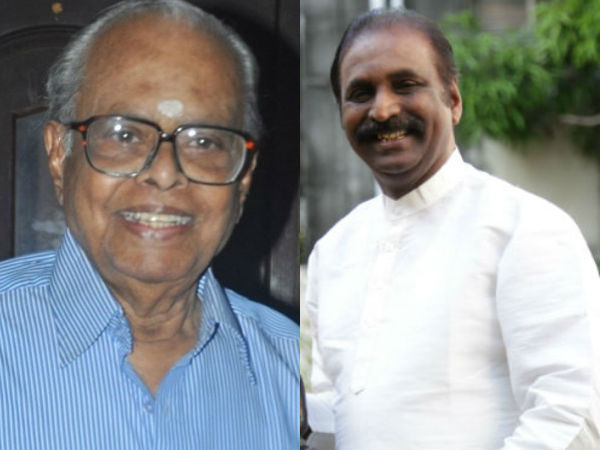 Poet Vairamuthu to set a bronze statue to K Balachander