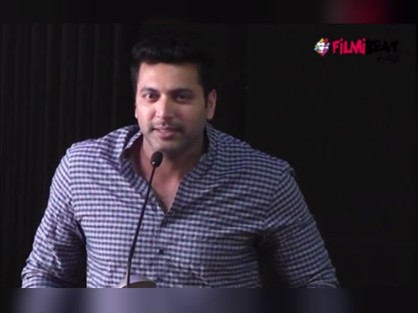 If you are really a tamilian do not upload vanamagan movie in internet told actor Jayam Ravi