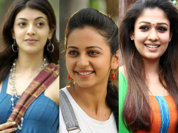 Kajal, Rahulpreeth Singh and Nayanthara plays similar roles