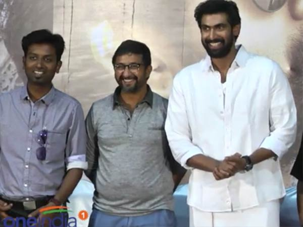 Actor Raana daggubathi starrer Naan Anaiyittal film press meet