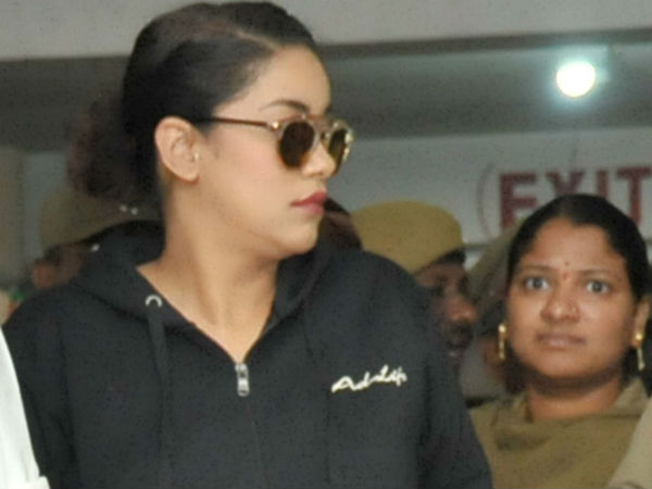 Drug case: Mumaith Khan appears before SIT