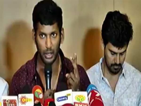 Vishal's request to Censor board